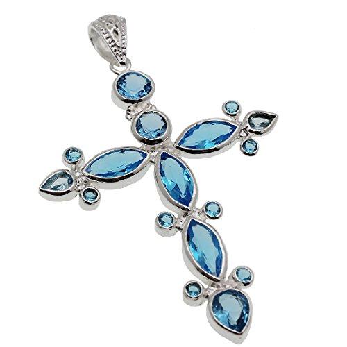 hermosa-sterling-silver-cross-london-blue-topaz-pendants-women-jewelry-3-3-8-inch