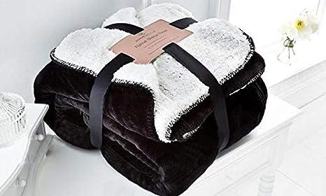 EDS Teal weiche Sherpa Schlafsofa Decke Kleine Abmessungen Teal, klein geringes Gewicht und All Season Werfen//Decke f/ür Bett und Couch,