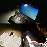 Rechargeable Book Light, Merisky LED Clip on