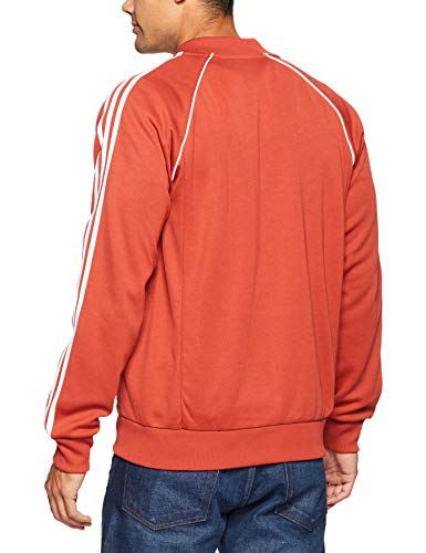 Sst da Giacca Track uomo Originals Adidas Orange Shift ZwPqt