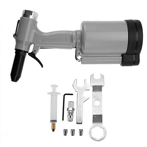 (Riveter Guns - Industrial Air Pneumatic Blind Rivet Gun Riveter Kit Set 2.4 5.0mm - Nut Gun Blind Rivet Adaptor Drill Rivet Riveter Rivet Rivet Gun Nut Hand Gun Switch Guns Rivet Gun Gun Nut)