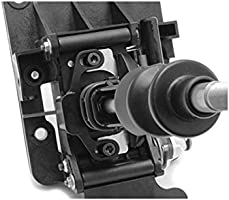 DEWHEL Manual Performance Shifter Stop Gap Removal Shift Stop Removes Loose Sloppy Shift Gate Feel CNC Aluminum for 2015 WRX//10-14 Legacy//Outback//14 Silver Forester