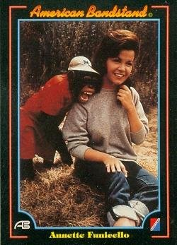 Annette Funicello trading Card (American Bandstand) 1993 Collect-A-Card #3 Autograph Warehouse
