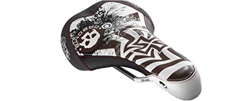 (Da Bomb NEW SKULL 2.0 Bike Bicycle MTB BMX Dirt Jumper Saddle Low Profile Aero Shape)