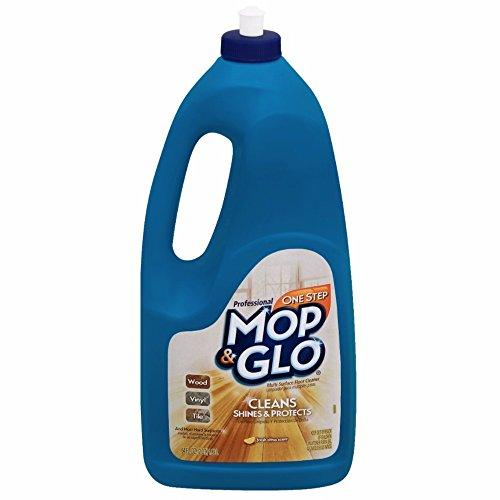 Mop & Glo Professional Multi-Surface Floor Cleaner, 64 fl oz Bottle, Triple Action Shine Cleaner
