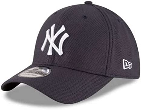 NY Yankees schwarz New Era 39Thirty Diamond Cap