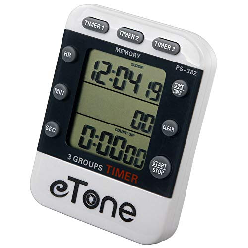 eTone 3 Channel Timer Counter Da...
