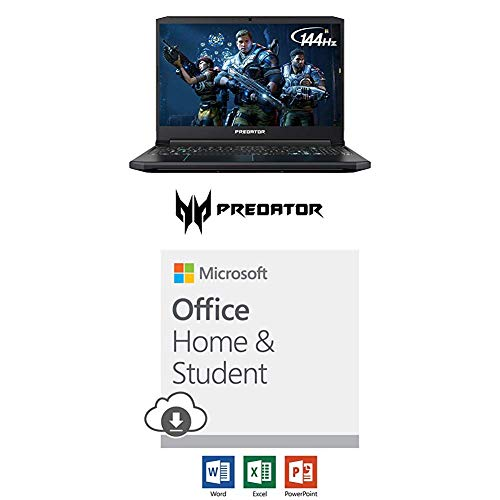 (Acer Predator Helios with Microsoft Office Home and Student 2019 Download | 1 person, Compatible on Windows 10 and Apple macOS)