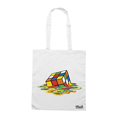 Borsa Cubo Rubik Sheldon Big Bang Theory - Bianca - Film by Mush Dress Your Style