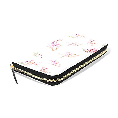 Floral Credit Wallet Flowers Long Retro Card Holder Bennigiry Clutch Lady Purse qTgU7xR