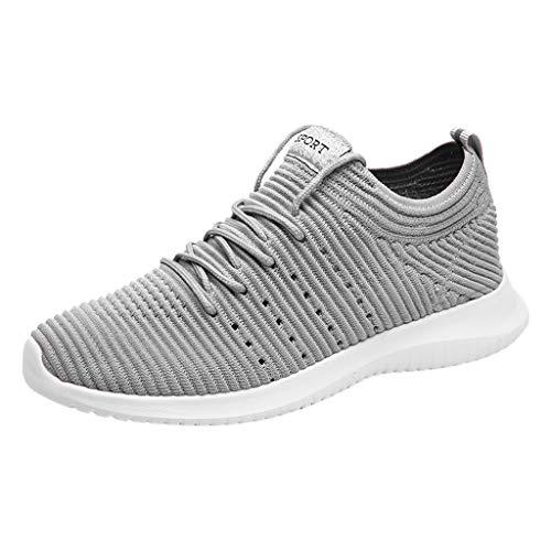 JJLIKER Mens Casual Athletic Sneakers Comfortable Running Shoes Mesh Light Tennis Footwear for Men Walking Workout
