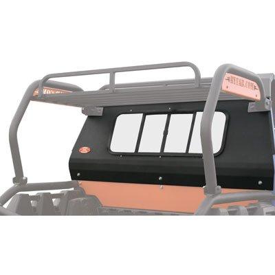 Sliding Ranger Window - Ryfab Sliding Glass Rear Window Black for Polaris RANGER RZR 800 EPS 2011-2014