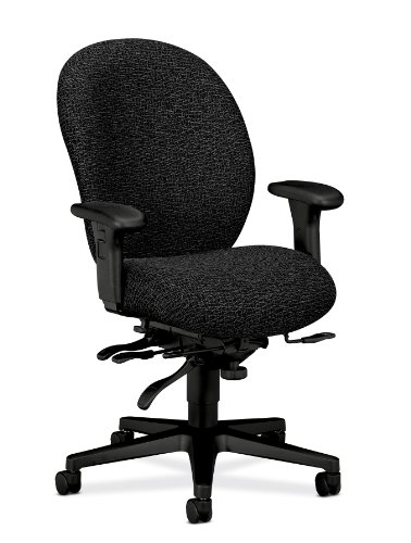 (HON 7608BW19T Unanimous High-Performance High-Back Executive Chair, Iron Gray Fabric)