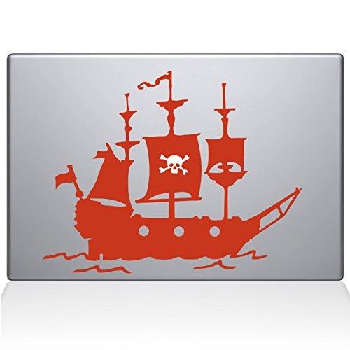 交換無料! The Decal Guru Decal Pirate Air Ship MacBook Decal Vinyl Sticker B0788LKBSG - 13 Macbook Air - Orange (1168-MAC-13A-P) [並行輸入品] B0788LKBSG, 濃厚本舗:032da863 --- a0267596.xsph.ru