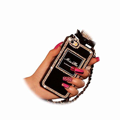 Funda 1 Carcasa para MingKun iPhone iPhone Fundas Botella 4 6 6S Bling TPU Silicona Suave 7 6S Transparente iPhone Pulgada aw5WqHq