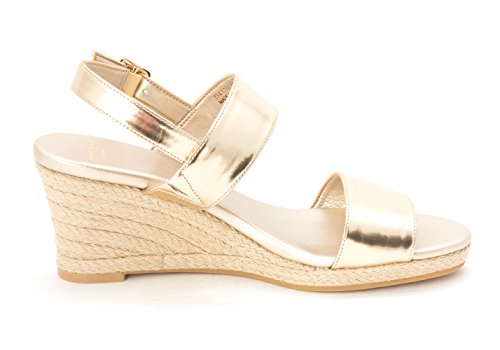 Cole Haan Womens 14A4177 Open Toe Casual Platform Sandals Soft Gold 34demdS