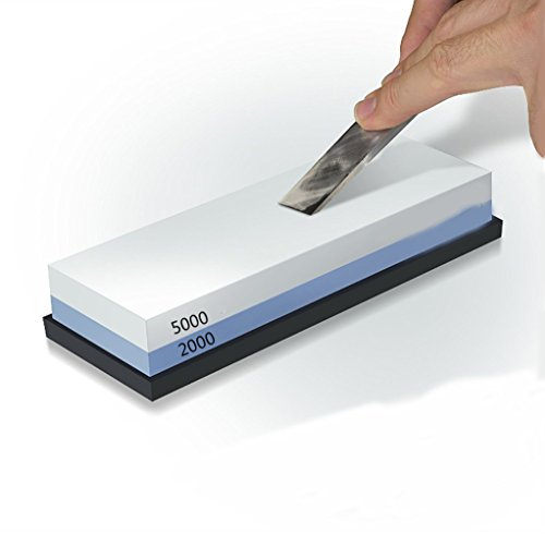 Baixi Professional Sharpening Stone 100  Double Sided Knife Sharpening Stone 1000 3000 2000 5000 3000 8000 Whetstone Knife Sharpener  2000 5000  Blue