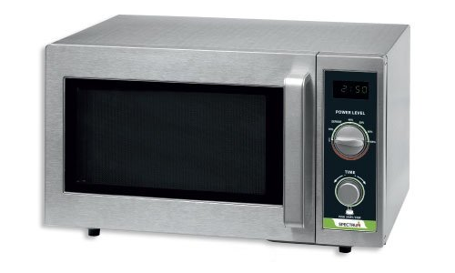 Winco (EMW-1000SD) Spectrum Commercial Microwave, Dial Stainless Steel, 1,000 W