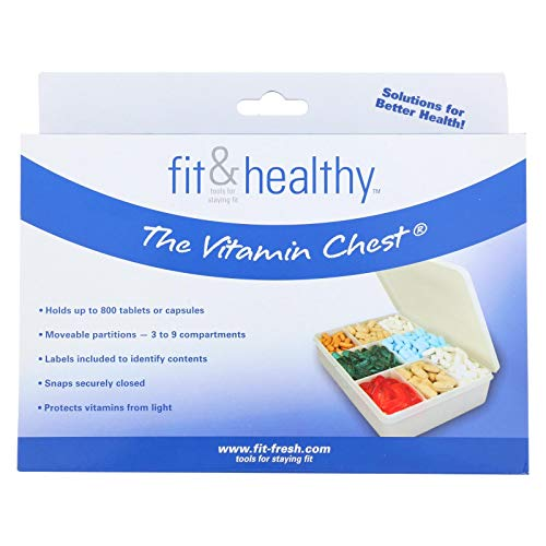 Fit and Healthy Vitamin Chest Organizer - 1 -