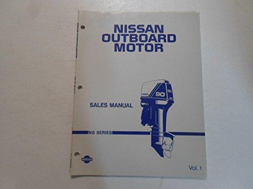 Nissan Outboard Motor Sales Manual NS Series Vol.1 BOAT