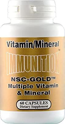 Nutrition Supply - Nsc-Gold Vitamin & Mineral, 60 capsules