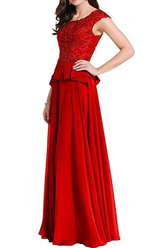 Chiffon Brautjungfernkleider A Partykleider Braun Braut Herrlich Lang Abendkleider Rot Ballkleider La Linie mia Dunkel Tanzenkleider 8nwqI4zx1g