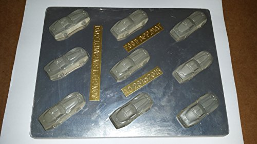Sports Car Mints - Chocolate Candy Mold - AO281