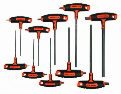 - Bahco 900T-10US SAE T Handle Set, 10-Piece