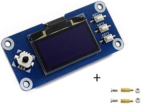 1 3inch OLED HAT 128x64) - 3 3cm OLED Display HAT 128x 64