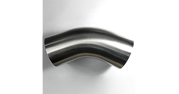Amazon.com: Codo curvado de mandril de acero inoxidable de ...