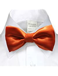 Unotux Boys Satin Bow tie from Baby to Teen