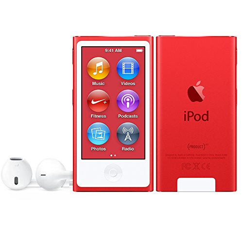 Apple iPod Nano 16GB Red Special Edition 7th Generation (Apple Ipod Red)