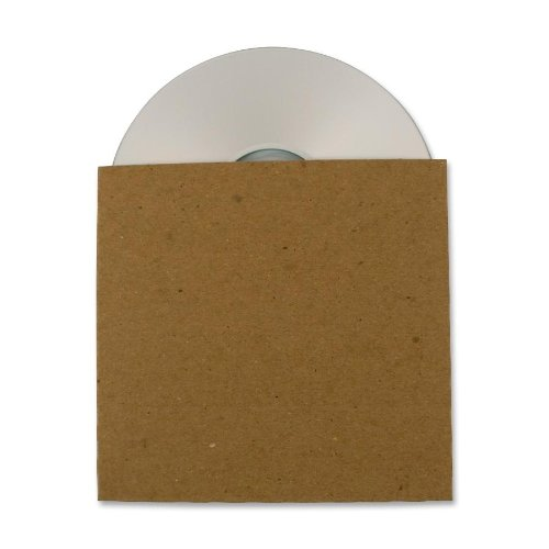 Make Cd Paper Sleeve - Guided Products ReSleeve Recycled Cardboard CD Sleeve, 25 pack (GDP00082)