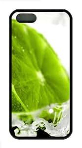 Frozen lemon TPU Black Case for iphone 5/5S by Maris's Diary