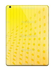 DanielFletcher Case Cover Protector Specially Made For Ipad Air Fresh Yellow Print