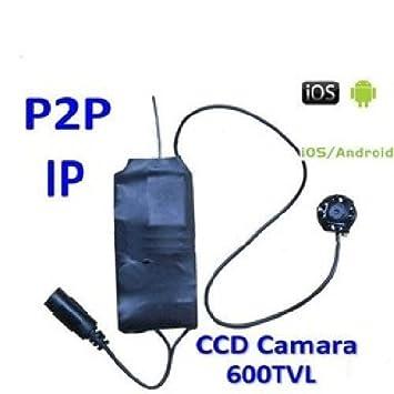 Agente007 - Camara Espia Wifi P2P Ip Ccd 600Tvl Para Ocultar Vision Nocturna Modulo Profesional: Amazon.es: Bricolaje y herramientas