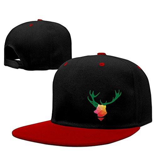 Elk Footwear (Red Elk Antler Adjustable Baseball Cap)