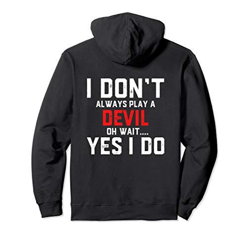Devil Costume For Women - Men - Boys - Girls Pullover Hoodie