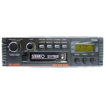 Radio-Casete Estéreo para coche SHARP RG-F554E(BK): Amazon.es: Electrónica