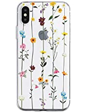 Oihxse Mandala Flores Encaje Patrón Serie Case Compatible con iPhone 11 Pro MAX Funda TPU Silicona Suave Protector Ultra Slim Anti-Rasguño Transparente Carcasa (A16)