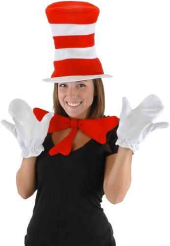 Cat in the Hat Adult Accessory Kit Costume - Dr Seuss Womens Costumes