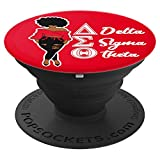 Delta DST Sigma Sorority PopSocket Grip Gift for theta Diva - PopSockets Grip and Stand for Phones and Tablets