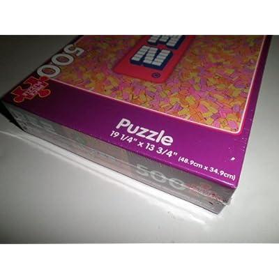 PEZ Puzzle 500 Piece Puzzle: Toys & Games