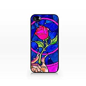 Beauty and a Beast Pattern Plastic Hard Case Cover for iPhone 4/4S