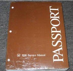 1998 Honda Passport SUV Service Repair Shop Workshop Manual OEM ()