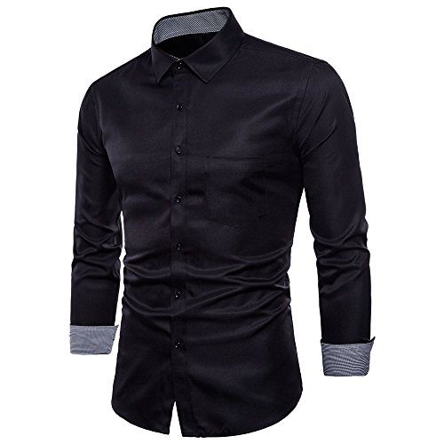 - Hot Zlolia Men's Oxford Formal Casual Suits Long Sleeve Slim Fit Tee Dress Shirts Blouse Top