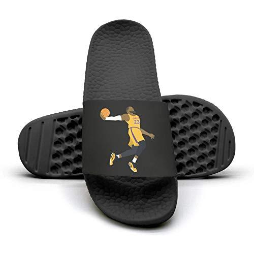 - Men's MVP-James-23-Player- Non-Slip Summer Sandals Slippers Soft Foams Slippers