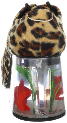 Plataforma Hombres Funtasma Pimp-02 piel del guepardo Con flotante Tama-o Fish 3,5 pulgadas M