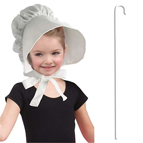 Child Pilgrim Shepherd Woman Little Miss Muffet Bo Peep Costume Accessory -