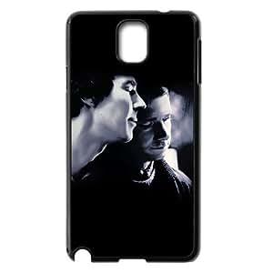 J-LV-F Customized Print Sherlock Hard Skin Case Compatible For Samsung Galaxy Note 3 N9000